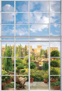 Фотообои Балкон за окном (win-12)