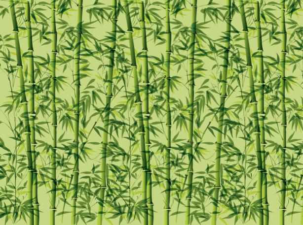 Скатерть с бамбуком (0069)