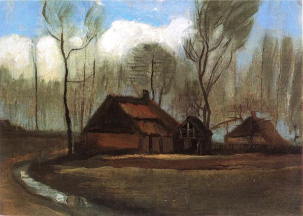 Ван Гог пейзаж (art-0000184)