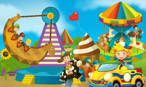 Фотообои Детские развлечения (child-589)