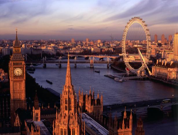 Фотообои Лондон в сумерках (city-0000093)