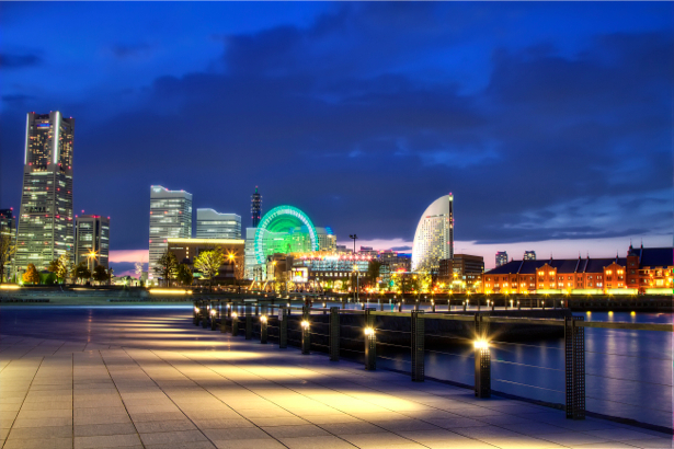 Фотообои мегаполис, Япония, Йокогама (city-0000131)