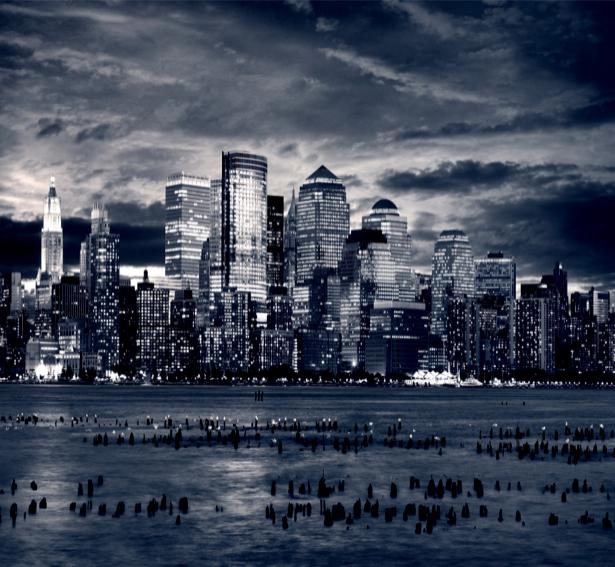 Фотообои современный город небоскребы (city-0000249)