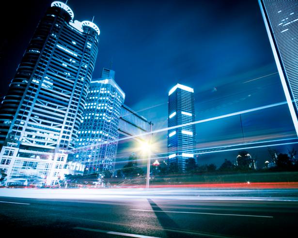 Фотообои современный город дорога (city-0000252)