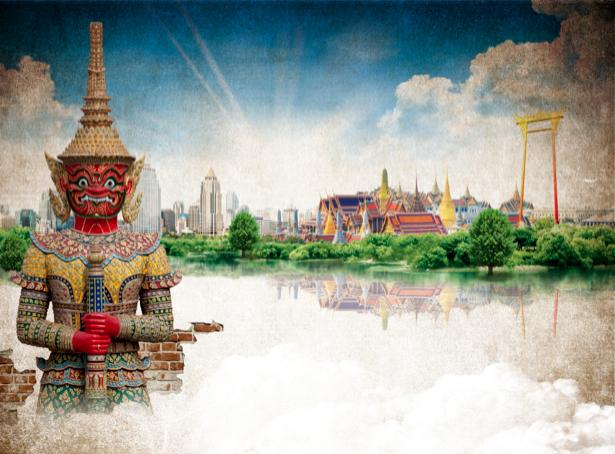 Фотообои Таиланд Бангкок (city-0000588)
