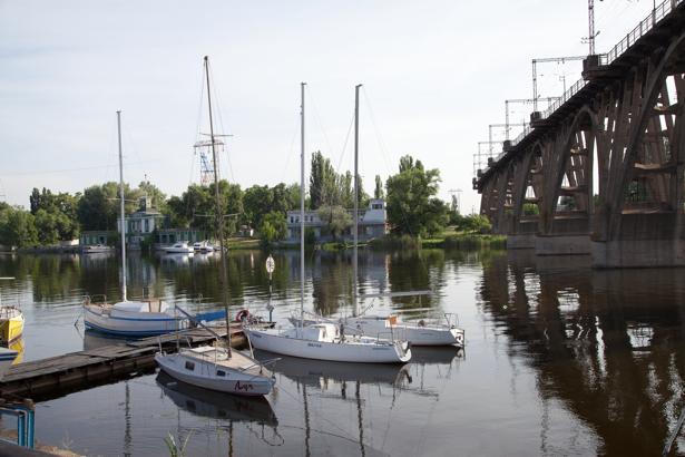 Фотообои Днепропетровск станция Украина (city-0000856)