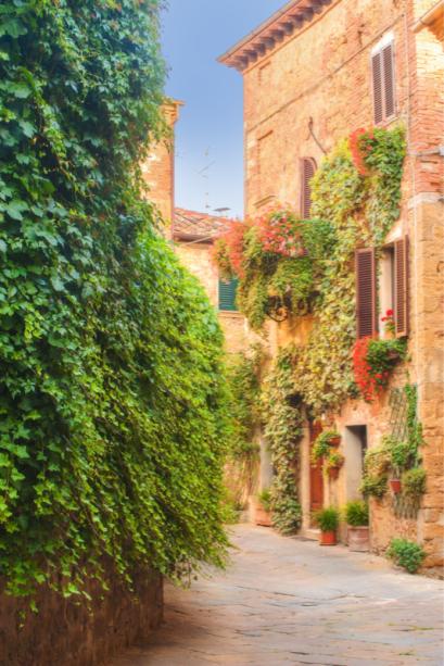 Улицы старого города Сиена Фотообои (city-0001363)