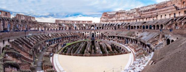 Колизей амфитеатр Италия фотообои (city-0001385)