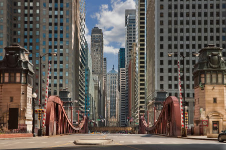 Фотообои улицы Чикаго (city-1486)