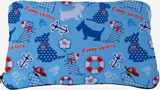 Подушка Funny sailors (dog-9)