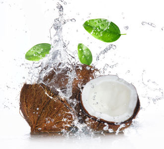Фотообои кокосы (food-343)