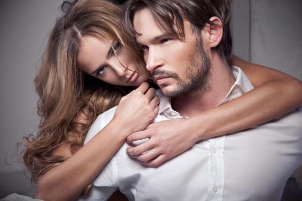 Фотообои девушка и мужчина реклама (glamour-0000042)