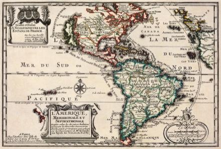 атлас, география, карты, старая карта (map-0000097)