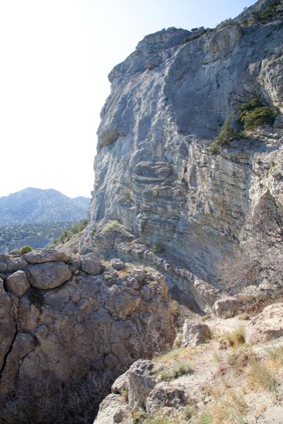 Фотообои крымские горы скалы (nature-00622)