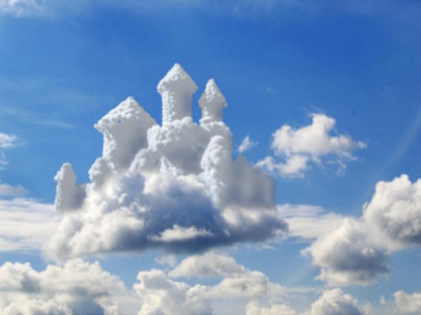 Фотообои небесный замок (sky-0000047)