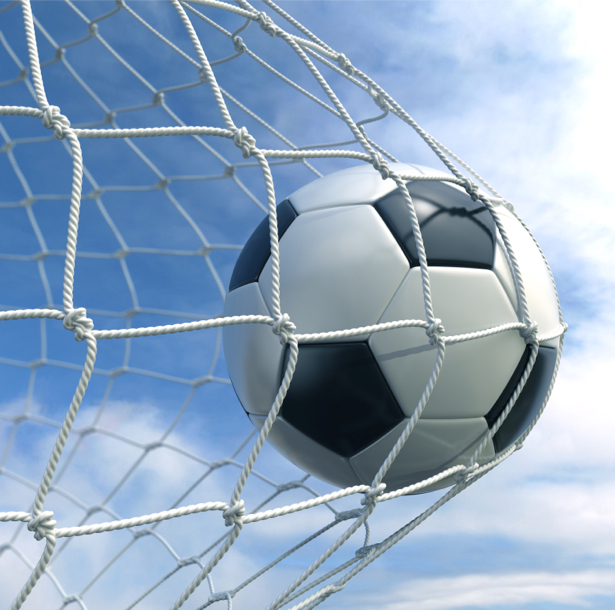 Фотообои мяч ворота гол (sport-0000020)