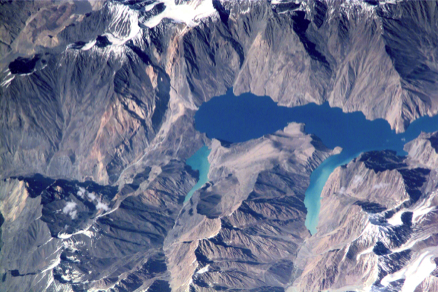 Фотообои земной шар горы NASA (terra-00287)