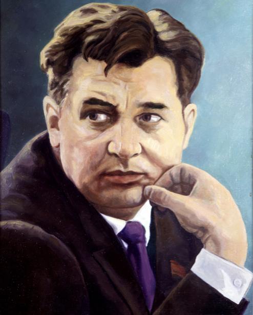 Портрет Олеся Гончара (ukraine-0188)