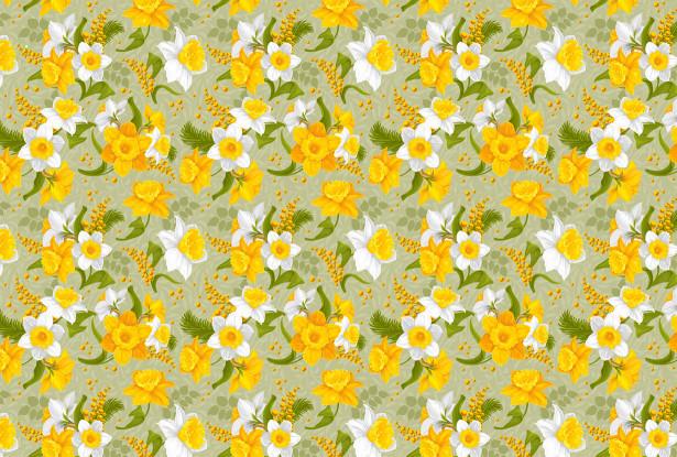 Скатерть Весенние цветы (0159)