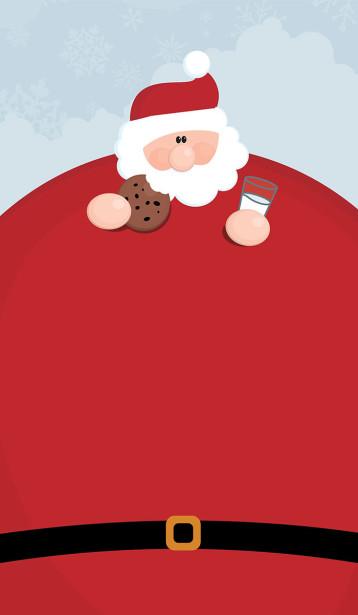 Скатерть Санта с молоком (221)