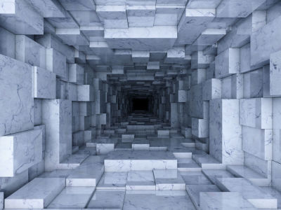 3D фотообои Переход (3d8)