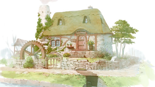 Фотообои Сельский дом (art-0000713)