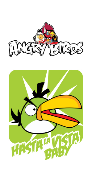 Фотошторы angry birds (children-curtain-00027)