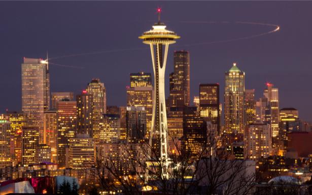 Фотообои Сиэтл, Вашингтон, США (city-0000217)