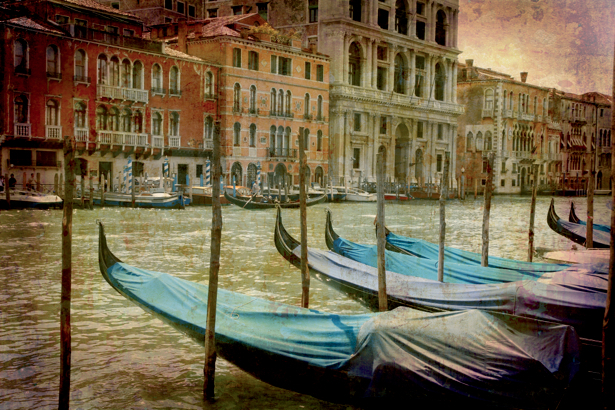Фотообои Венеция гондолы (city-0000468)