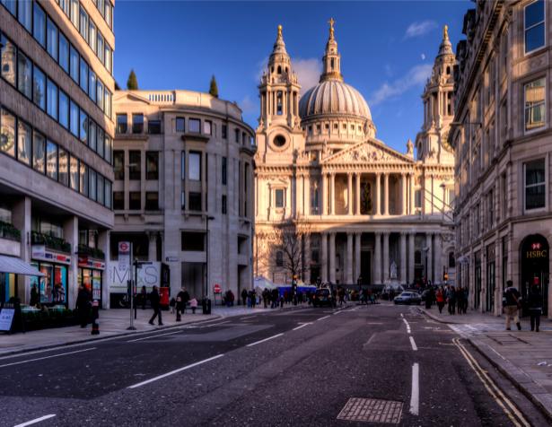 Фотообои Лондон Собор Павла (city-0000510)