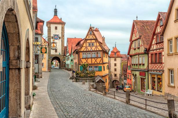 Фотообои Ротенбург Германия (city-0000538)