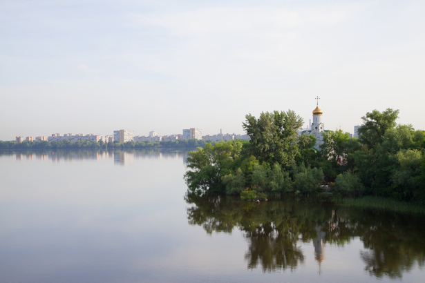 Днепр Украина Фотообои (city-0000861)