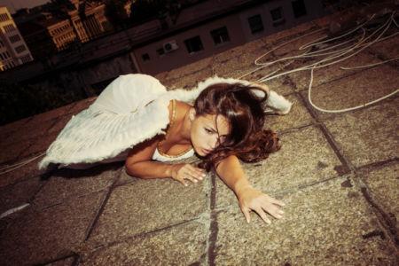 Фотообои девушка ангел (glamour-0000291)