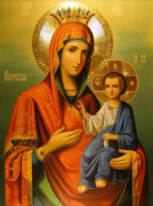 икона Иверская Божья Матерь (icon-00041)