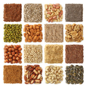 Фотошторы орехи и семена (kitchen-curtain-00009)