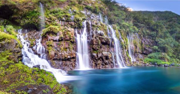 Фотообои водопады озеро (nature-0000708)