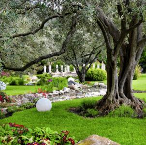 Фотообои для спальни сад (nature-00448)