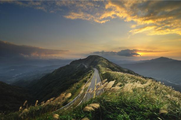Фотообои горы закат фото (nature-00473)