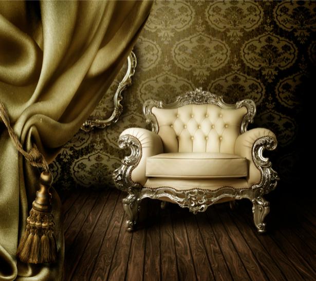 Фотообои ретро мебель (retro-vintage-0000010)