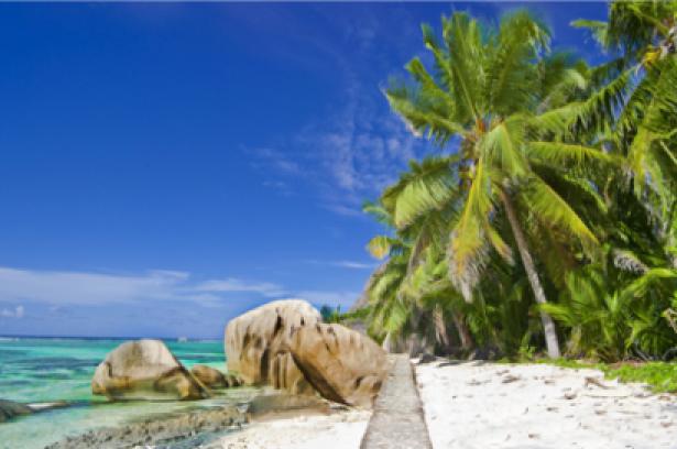 Фотообои пальмовые острова (sea-0000126)