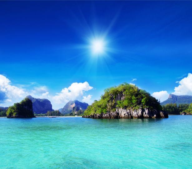 Фотообои море природа солнце (sea-0000342)