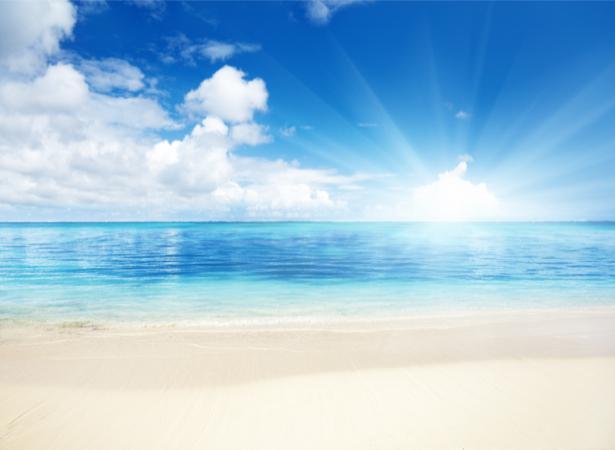 Фотообои море свет и облака (sea-0000349)