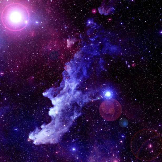Фотообои галактика звёздная пыль (space-0000011)
