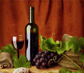 Фотообои композиция вино (still-life-0008)