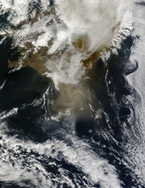 Фотообои 3д глубина и облака (terra-00081)