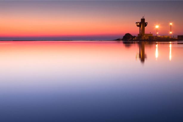 Фотообои Одесское вечернее море (ukr-27)