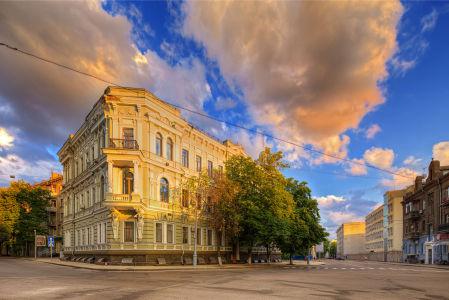 Фотообои улицы Харькова (ukr-7)
