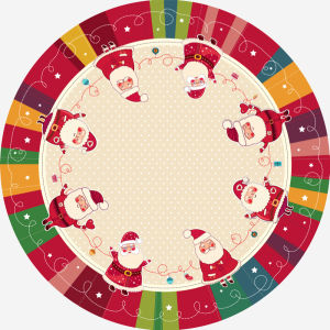 Скатерть Санта Клаусы (0049)