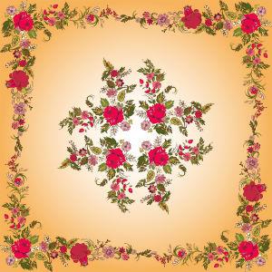 Скатерть красные розы (0116)
