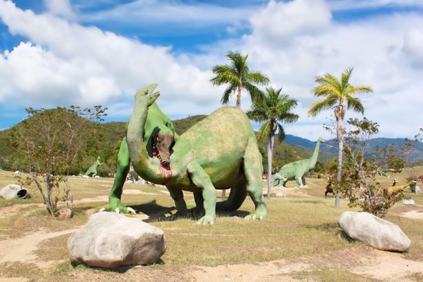 Фотообои динозавры и тираннозавры (animals-0000146)